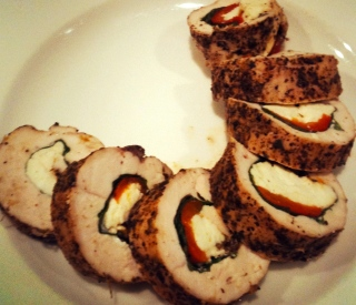 Rolled Chicken Breast from the Heart Foundation