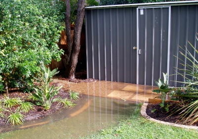 Shed With Moat