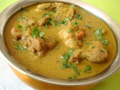 Nilgiri Chicken Korma courtesy of Sailajag at www.flickr.com