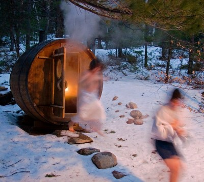Middle-Aged Anxiety And Saunas