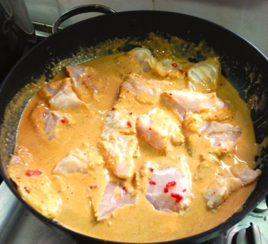 Cook's Cheat Sheet 2: Quick Fish Curry For Middle Aged Fatties