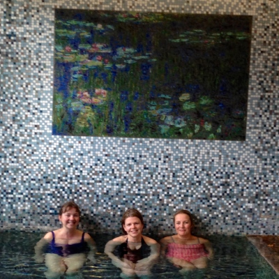 Spa-ing With Old Mates