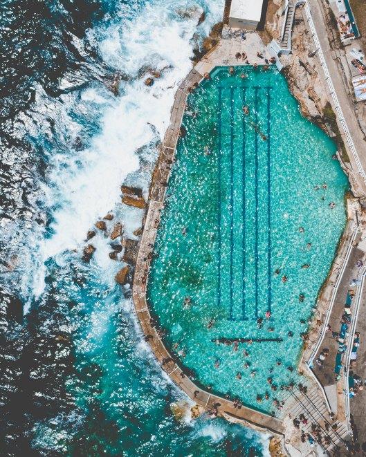 Image of Bronte rock pool.