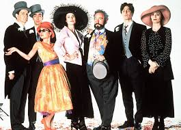 Cast of Four Weddings And A Funeral
